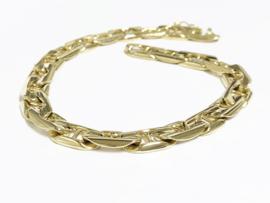 14 K Massief Gouden Gucci Schakelarmband - 24,5 cm / 41,75 g