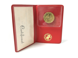 Rijks Munt 21,6 K Gouden Penning - 300 Jaar Korps Mariniers 1965