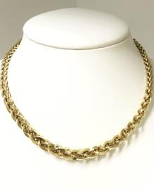 Antiek 14 K Gouden Schakel Collier (Uitlopend) Jaren '30  - 43,5 cm / 26,15 g