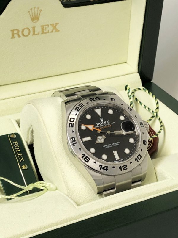 Rolex Explorer II Black Dial  - 42 mm / Full Set Inclusief Garantie