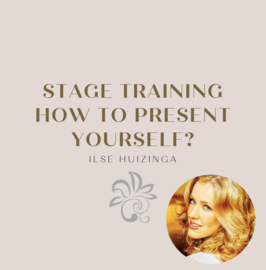 Stage Training - How to present yourself?