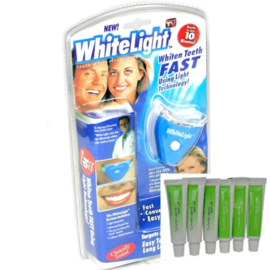 Whitelight Tandenbleekset + 6 extra refills