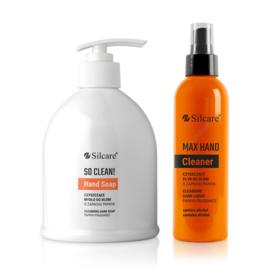 Hand Soap 500 ml. en Hand cleaner 200 ml