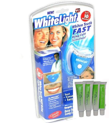 Whitelight tandenbleeset + 4 extra refills