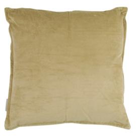 goround interior - kussen fluweel zand