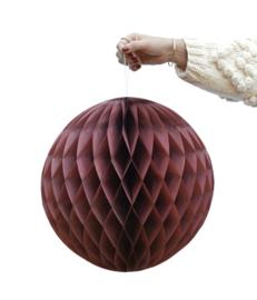 delight department - honeycomb donker rood set van 2