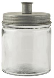 ib laursen - kaarsenhouder / potje zink laag