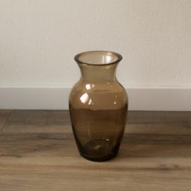 vaas gerecycled glas bruin M