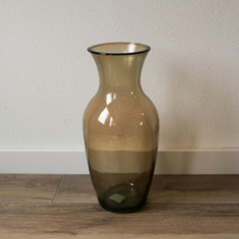 vaas recycled glas bruin L