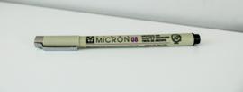 Pigma Micron Zwart 0,50 mm