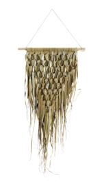madam stoltz - palm blad wand decoratie