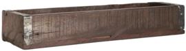 ib laursen - houten/metaal bak L