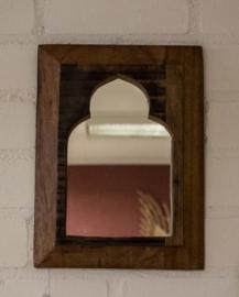 marokkaans spiegeltje van hout