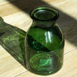 vaasje groen glas