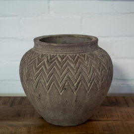 aardewerk pot taps