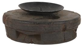 ib laursen - kaarsenhouder pilaar hout uniek