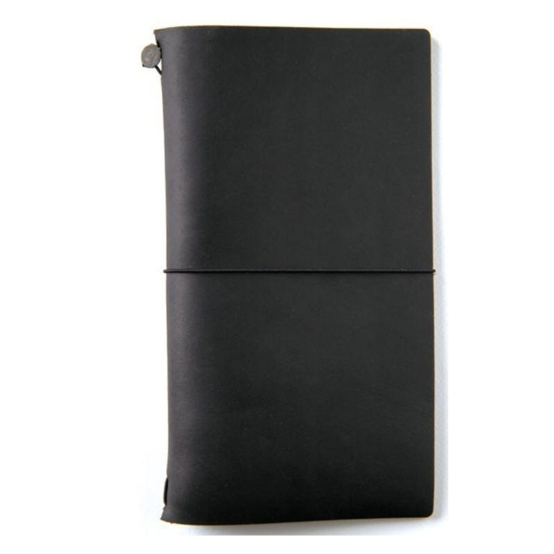 Travel notebook zwart
