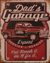 Dad's garage expert
