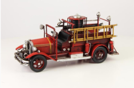 A TIN MODEL OF A FIRETRUCK small