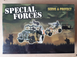 Special forces Soldier&Bike
