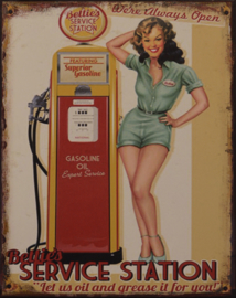 Bettie's service station