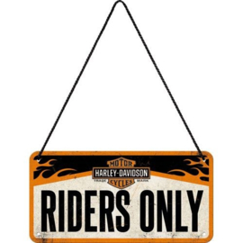 HD riders only