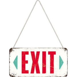 Hanging sign EXIT