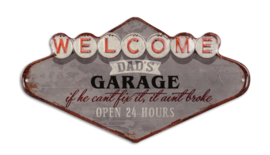 EMBOSSED DAD'S GARAGE