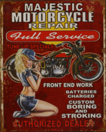 Majestic motorycle repair