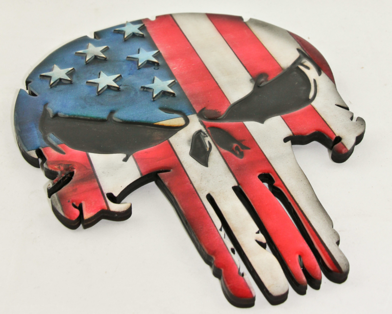Punsiher US flag 3D