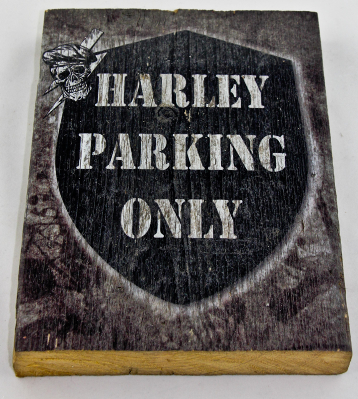 Harley Parking Only P