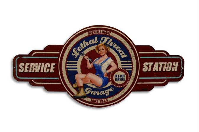 Bettie's service station