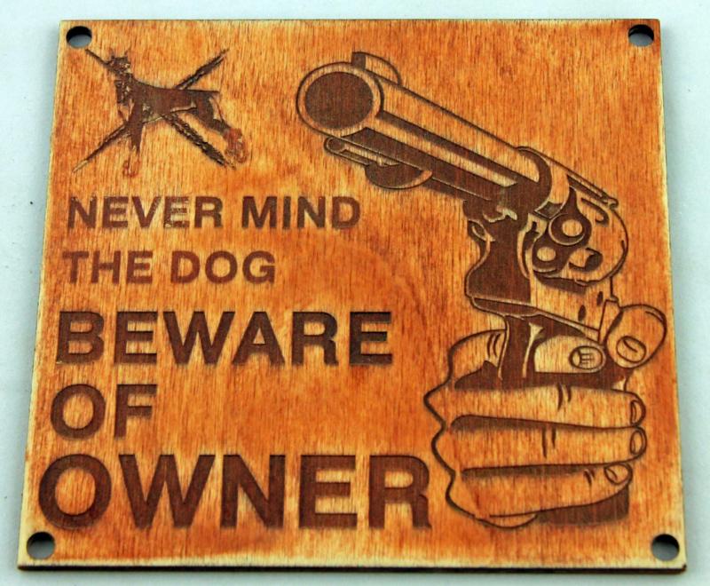Never mind the dog
