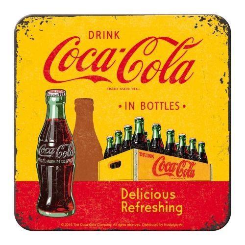 Coca Cola Bottles Yellow