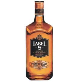 Label 5 Premium Black 0.7L