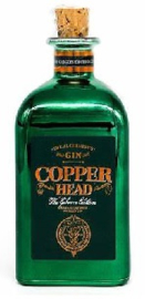 """Copperhead Gin """"the Gibson"""" edition  0.5L"""