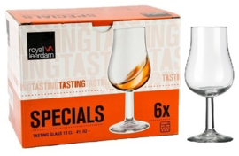 Whisky Nosing & Tasting Tulpglas doos a 6 Stuks