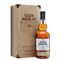 Glen Moray 25 Y Rare Vintage Port Cask 1987 Batch 2 0.7L