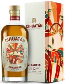 Cihuatan Cinabrio 12Y  rum