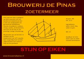 Stijn op Eiken  Brouwerij de Pinas 0.75L