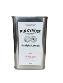 "Pinkyrose  Lemonade ""Straight Lemon"" siroop"