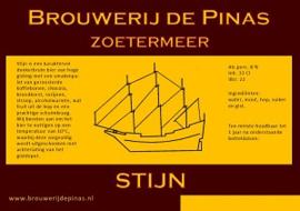 Stijn Brouwerij de Pinas 0.75L