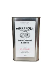 """Pinkyrose  Lemonade """"Dark Caramel & Vanilla"""" siroop"""