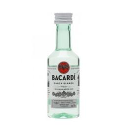 Bacardi Carta Blanca Miniatuur 0.05L
