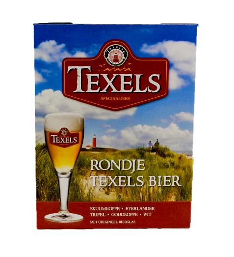 Bierpakket Texels met Glas