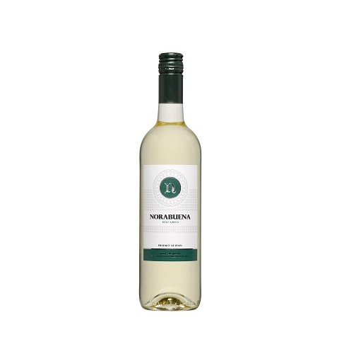 Norabuena Macabeo Blanco doos/ 6 flessen  á 0.75L