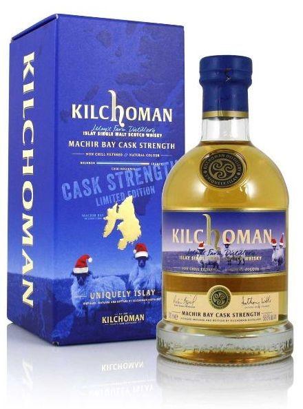 Kilchoman Machir Bay Cask Strength Limited Edition Christmas