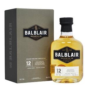 Balblair 12Y Single Malt whisky