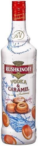 Rushkinoff Caramel Vodka 1.0L