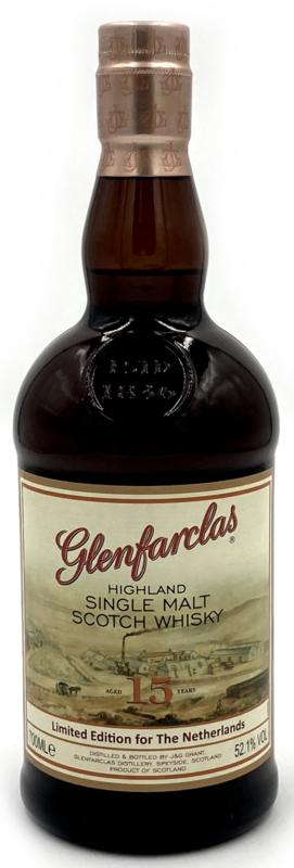 Glenfarclas 15 Y Limited Edition for The Netherlands